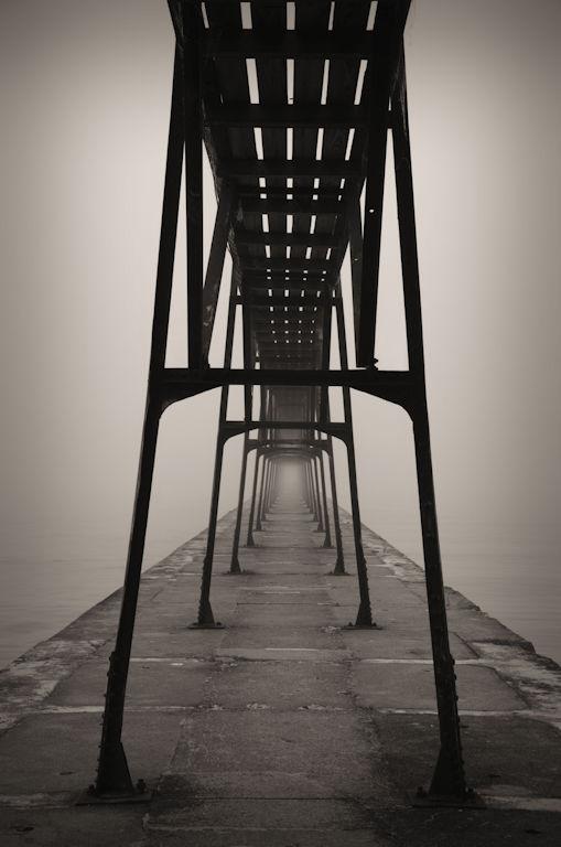 lighthouse, gangway, Jeff Harold
