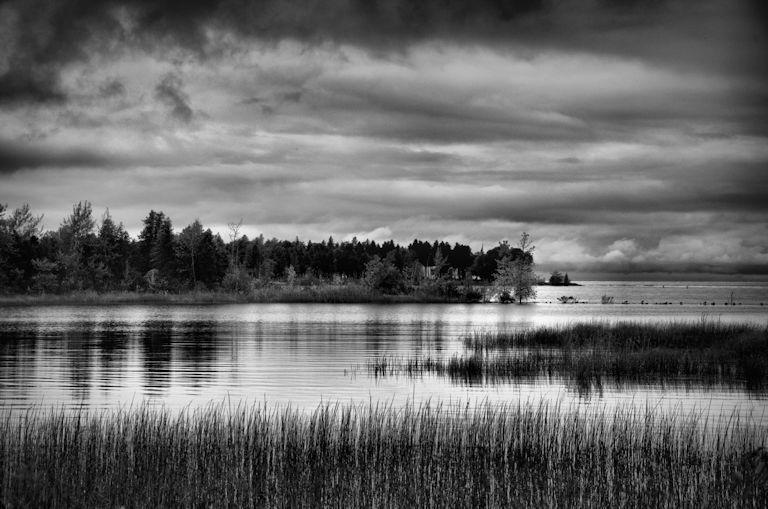 Fish Creek, Pennisula State Park, clouds, Jeff Harold