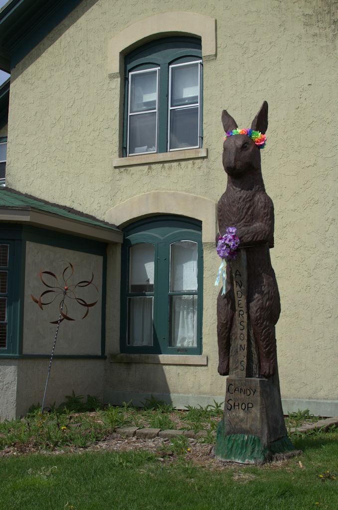 Chocolate Rabbit, Anderson's Candy Shop, Richmond, IL