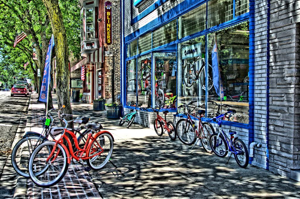 Saturday at the Bike Shop